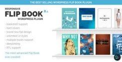 نمایش کتاب به صورت سه بعدی در وردپرس با افزونه Responsive FlipBook نسخه ۲٫۴