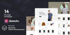 قالب انعطاف پذیر فروشگاهی Neoo برای ووکامرس