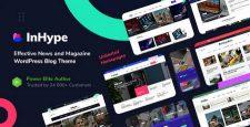 قالب وبلاگی و مجله InHype برای وردپرس