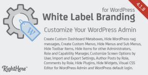 افزونه سفارشی سازی وردپرس White Label Branding