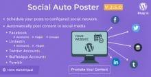 افزونه وردپرس اشتراک گذاری مطالب Social Auto Poster نسخه ۲٫۷٫۹